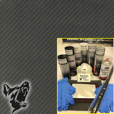 Hydro dipping Hydrographics home starter Dip Kit - Carbon Fibre 2 (DK-CAR02)