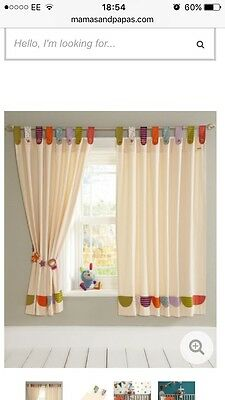 Mamas & Papas Timbuktales Curtains (132 x 160cm)