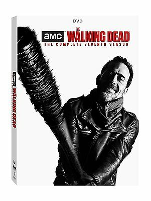 The Walking Dead Season 7 DVD Box-Set (5 discs) Brand New