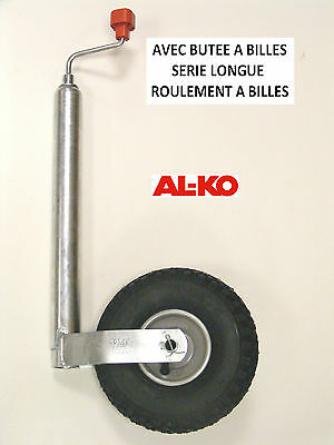 Roue jockey gonflable ALKO