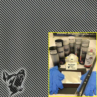 Hydro dipping Hydrographics home starter Dip Kit - Carbon Fibre 9 (DK-CAR09)
