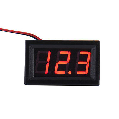 DC Voltmeter 0.56''LED Digital Volt Meter Gauge Battery Charge Indicator Tester