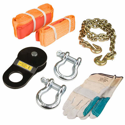 NEW 8 Piece 4WD Recovery Rescue Kit