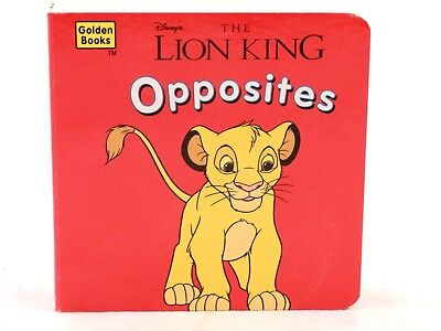 NEW! Lion King Opposites (Little Nugget Books) Board Book. 1996