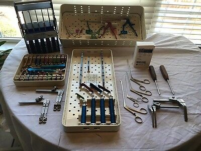 medtronic trimline cervical retractor with extras