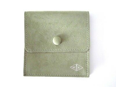 AUTH NEW VAN CLEEF & ARPELS VCA Gusset Jewelry Storage Travel Pouch Wallet