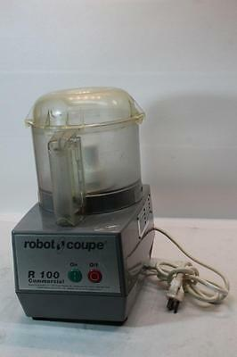 Robot Coupe R100 Commercial Food Processor with Mixing Bowl and Blade