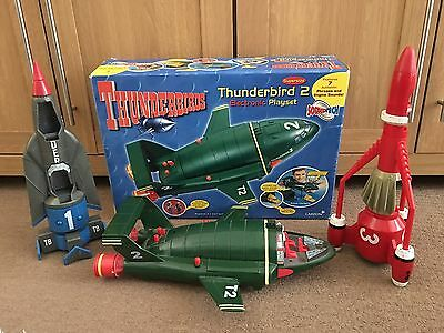 Thunderbirds Matchbox Supersize 2 Carlton 1 & 3 Electronic Playset Spairs Repair