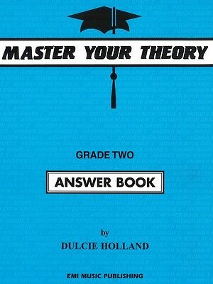 Master Your Theory Grade 2 / Two ***Answer Book** Dulcie Holland E54520 NEW