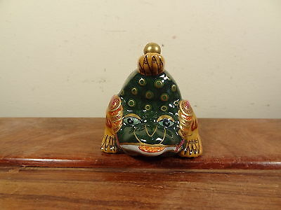 Old Porcelain Snuff Bottle - Money Frog