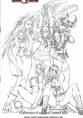 Darkness # 10 Jay Co After School special Sketched Gold Foil Edition With COA