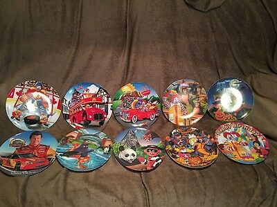 Lot Of 10 Collectible McDonald's Plates Holiday NASCAR Canada England  Lot 4