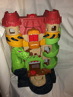 Fisher Price Imaginext Castle Dragon World Fortress 2008  Actions Sounds