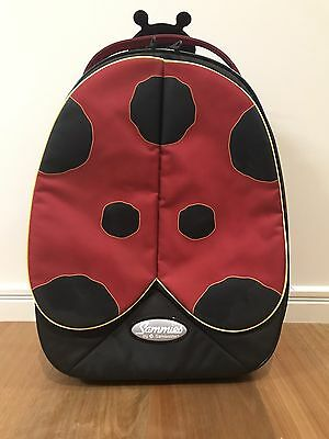 Sammies by SAMSONITE Ladybird Trolley Cabin Bag Suitcase w Wheels - Kids Travel