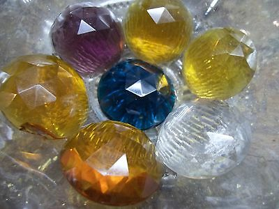 antique stained glass jewels