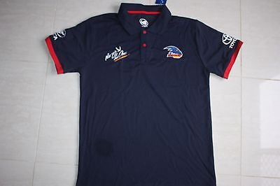 "Adelaide Crows ""we fly as one"" Mens Navy Polo Shirt (S to 3XL)"