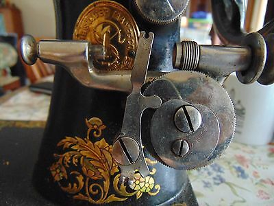 Antique Singer 1909 Treadle Sewing Machine Long Bobbin Winder TESTED WORKS