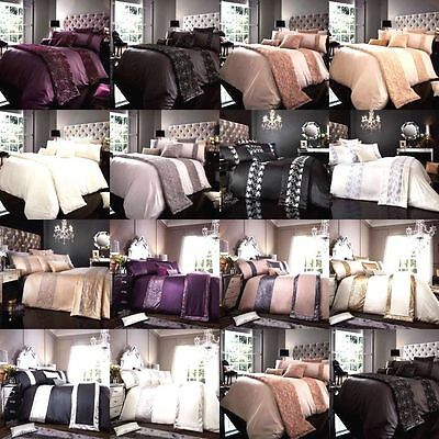 New Luxury Duvet Cover With Pillow Cases King Size Double Single Super Bedding