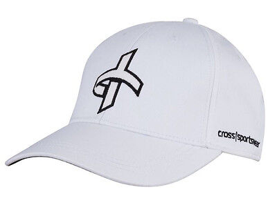 Cross Cap - White