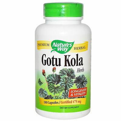 Nature's Way, Gotu Kola, 475mg, 180 Veg. Kapseln