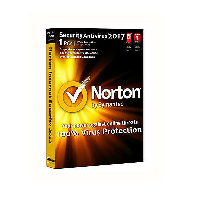 Norton Security Antivirus Standard 1 Device - 1 Year Latest 2017 - Code Only