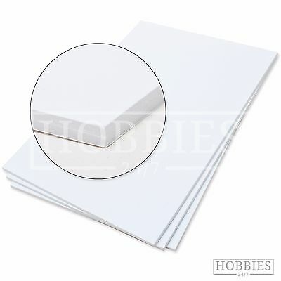 Foam Board White Paper Coated A4 3-5mm Sign Making Model Building Art Mounting