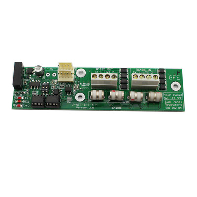 Global J-NET-INT-485 Panel Network Card Interface Module for GFE Alarm Panels