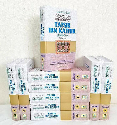 SPECIAL OFFER: Tafsir Ibn Kathir (Abridged) - 10 Vols. Set (Indian Print-HB