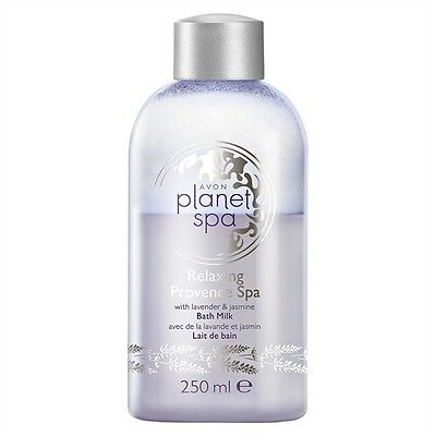 AVON Planet Spa Relaxing Provence Spa Bade- Milch mit Jasmin & Lavendel 250ml