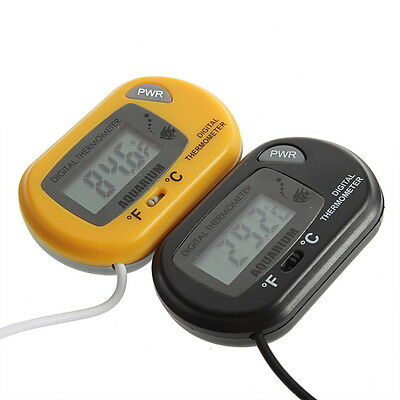 NEW Digital LCD Fish Home Aquarium Terrarium Marine Thermometer GN