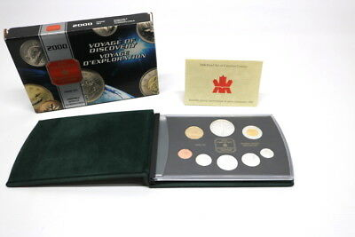 Royal Canadian Mint Silver Proof Set 2000