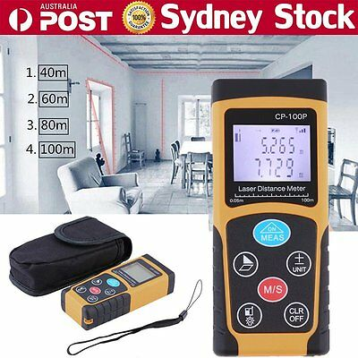 40-100m Mini Digital Laser Distance Meter Range Finder Measure Diastimeter AUSDY