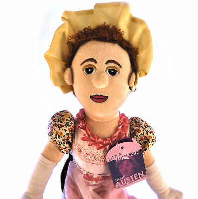 Jane Austen Soft Toy - Little Thinkers Doll
