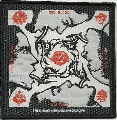 RED HOT CHILI PEPPERS blood sugar sex magic 1992 - WOVEN SEW ON PATCH - RHCP