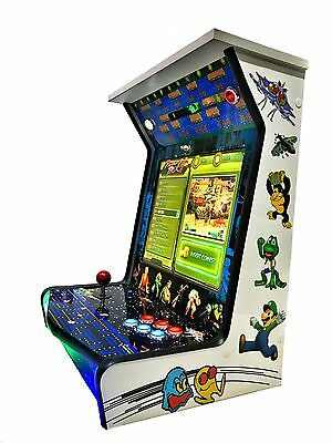 NEW BAR TOP TABLETOP UPRIGHT CLASSIC ARCADE VIDEO GAME MACHINE JAMMA 645 in 1