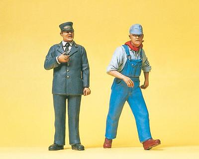 Preiser 45132 US railway personnel. 1:22,5