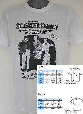 Sleater Kinney t-shirt bikini kill huggy bear riot grrrl haim raincoats