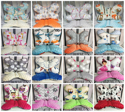 Fashion by DUDA Baby bedding cot pram MINKY pillow butterfly