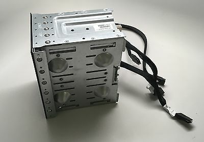 """HP 519560-001 8 SFF 2.5"""" Hard Drive Cage w/ backplane sas cables DL370g6 ML370g6"""