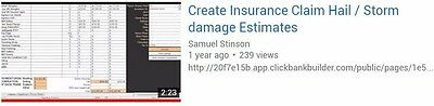 Roof Estimating Software-Specifically designed for settling insurance+Supplemen
