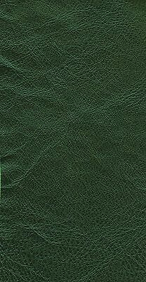 46 sq ft  CREST CAMBRIDGE FOREST GREEN   Leather Hide / skin for Upholstery