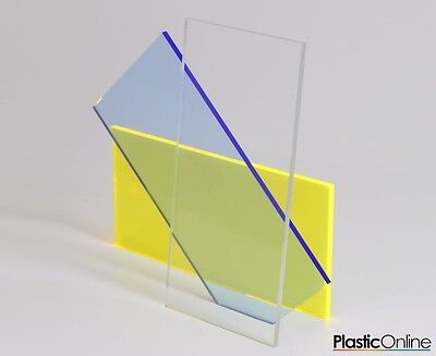 Clear Polycarbonate Lexan Makrolon Palsun Sheet Solid Panels Cut To Size