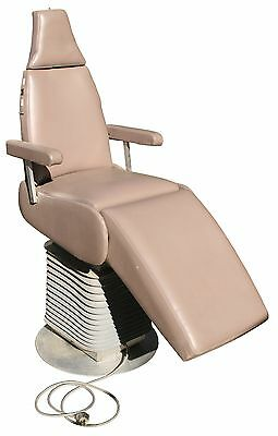 Vtg Mid Century Fully Adjustable Electric TATTOO / DENTAL CHAIR Works Perfectly