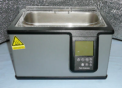 PolyScience WB02S Digital General Purpose Shallow Water Bath, 2 Liter, #39427