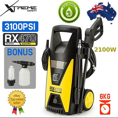 Jet USA Pressure Washer Lightweight Electric 3100PSI High Pressure Cleaner RX470