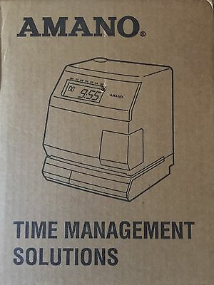 AMANO TS-3000i TIME MANAGEMENT SOLUTIONS TIME SYNC ATVS TIME WEB CLOCK AUTOMATIC