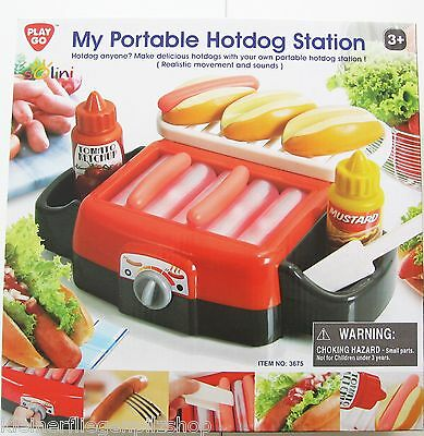 Portable Kinder Hot Dog Station Solini NEU m.E Play Go 3675 3J+ Bewegung Sound