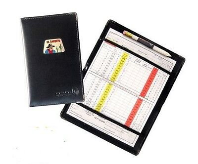 Asbri Golf Scoremaster Scorecard Holder with pencil