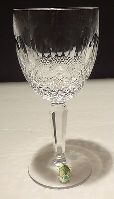 1 Vintage Waterford Crystal Colleen Tall Stem Water Glass ~ 6 7/8""