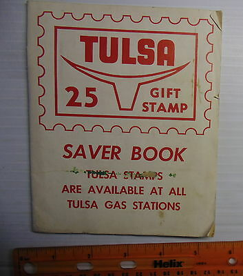 Tulsa Gas Stations Gift Stamp Saver Book Full Rare 1960s From Detroit